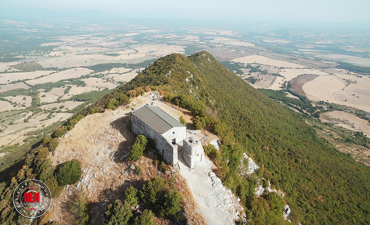 Fotografia aerea di Sant'Oreste
